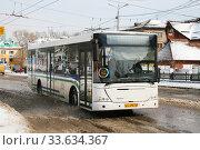 Nefaz 52997 (VDL Transit) (2008 год). Редакционное фото, фотограф Art Konovalov / Фотобанк Лори