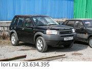 Купить «Land Rover Freelander», фото № 33634395, снято 13 апреля 2008 г. (c) Art Konovalov / Фотобанк Лори