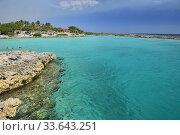 Купить «Beautiful Caribbean sea at exquisite Caleta Buena, Playa Giron, Cuba.», фото № 33643251, снято 14 марта 2020 г. (c) age Fotostock / Фотобанк Лори