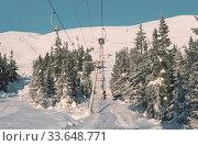 Купить «Winter season on ski resort», фото № 33648771, снято 4 августа 2020 г. (c) easy Fotostock / Фотобанк Лори