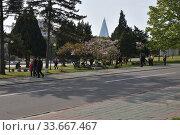 Купить «Pyongyang, North Korea», фото № 33667467, снято 29 апреля 2019 г. (c) Знаменский Олег / Фотобанк Лори