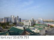 Купить «Pyongyang, North Korea», фото № 33679751, снято 29 апреля 2019 г. (c) Знаменский Олег / Фотобанк Лори