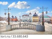 Покровский собор и Ротонда Pokrovsky  Cathedral and Rotunda (2017 год). Стоковое фото, фотограф Baturina Yuliya / Фотобанк Лори
