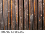 Decorative panel from wooden boards. Стоковое фото, фотограф Демьянович Вадим / Фотобанк Лори