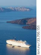 Luxury cruise ship. Стоковое фото, фотограф Matej Kastelic / Фотобанк Лори