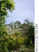 Купить «Demerdzhi Ghost Valley», фото № 33710543, снято 26 сентября 2019 г. (c) Александр Карпенко / Фотобанк Лори