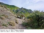 Купить «Demerdzhi Ghost Valley», фото № 33710559, снято 26 сентября 2019 г. (c) Александр Карпенко / Фотобанк Лори