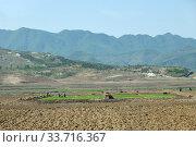 Купить «North Korea. Countryside», фото № 33716367, снято 5 мая 2019 г. (c) Знаменский Олег / Фотобанк Лори
