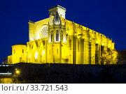 Basilica of Santa Maria de la Seu in Manresa. Стоковое фото, фотограф Яков Филимонов / Фотобанк Лори