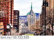 State University of New York from Albany Capitol (2018 год). Стоковое фото, фотограф Сергей Новиков / Фотобанк Лори