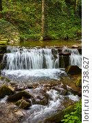 Купить «Schöne Bachlandschaft in der Toskana bei Montemignaio, Italien.», фото № 33738627, снято 7 августа 2020 г. (c) easy Fotostock / Фотобанк Лори