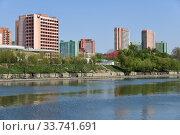 Купить «North Korea, Pyongyang architecture», фото № 33741691, снято 2 мая 2019 г. (c) Знаменский Олег / Фотобанк Лори