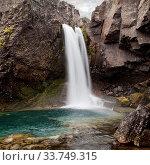 Купить «Wasserfall an der Oexi, Ostisland, Island, Europa», фото № 33749315, снято 3 июня 2020 г. (c) age Fotostock / Фотобанк Лори