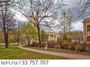 Купить «Ильинская церковь на Пороховых. Санкт-Петербург», фото № 33757707, снято 7 мая 2020 г. (c) Сергей Афанасьев / Фотобанк Лори