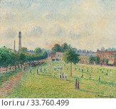 Camille Pissarro (1830 1903) kew greens angleterre 1892. (2019 год). Редакционное фото, фотограф Artepics / age Fotostock / Фотобанк Лори