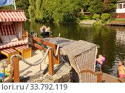 Купить «Campingplatz Steger mit der Ruhr im Sommer, Witten, Ruhrgebiet, Nordrhein-Westfalen, Deutschland, Europa», фото № 33792119, снято 25 мая 2020 г. (c) age Fotostock / Фотобанк Лори