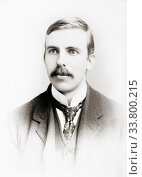 Купить «Ernest Rutherford, 1st Baron Rutherford of Nelson, 1871 - 1937. New Zealand-born British physicist. Recipient of Nobel Prize for Chemistry in 1908. Known...», фото № 33800215, снято 7 июля 2019 г. (c) age Fotostock / Фотобанк Лори