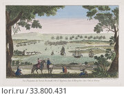 Купить «The port at Portsmouth, England in the 18th century. After an anonymous artist, published by Jean-Francois Daumont, Paris.», фото № 33800431, снято 6 июня 2019 г. (c) age Fotostock / Фотобанк Лори
