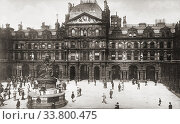 Купить «The Liverpool Stock Exchange, Liverpool, England, in the late 19th century. After a photograph by Frith and Co.», фото № 33800475, снято 7 июля 2019 г. (c) age Fotostock / Фотобанк Лори