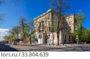 Купить «Old historic house in Odessa, Ukraine», фото № 33804639, снято 3 мая 2020 г. (c) Sergii Zarev / Фотобанк Лори