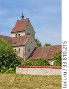 Münster St. Maria und Markus Reichenau-Mittelzell, Landkreis Konstanz. Стоковое фото, фотограф Zoonar.com/Falke / age Fotostock / Фотобанк Лори