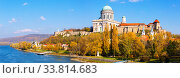 Купить «Basilica is religion landmark of Esztergom in Hungary», фото № 33814683, снято 2 июня 2020 г. (c) Яков Филимонов / Фотобанк Лори