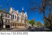Купить «Evangelical Presbyterian Church in Odessa, Ukraine», фото № 33816055, снято 28 апреля 2020 г. (c) Sergii Zarev / Фотобанк Лори