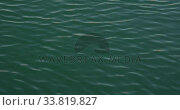 Magnificent view of small waves on a calm sea water. Стоковое видео, агентство Wavebreak Media / Фотобанк Лори