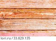 Купить «Rough wooden boards with cracks as background», фото № 33829135, снято 25 августа 2019 г. (c) FotograFF / Фотобанк Лори