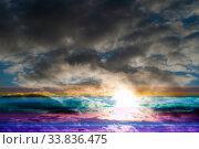 Купить «Поврежденное цифровое изображение. Damaged digital image. Digital glitch image background, digital errors on the screen, digital artifacts», фото № 33836475, снято 8 декабря 2019 г. (c) Зезелина Марина / Фотобанк Лори