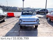 Купить «Soviet retro automobile ZAZ-968M», фото № 33836799, снято 26 октября 2019 г. (c) FotograFF / Фотобанк Лори