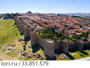 Cityscape of ancient Avila town (2019 год). Стоковое фото, фотограф Яков Филимонов / Фотобанк Лори