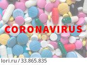 Купить «Covid-19 Virus Pandemic Concept», фото № 33865835, снято 9 апреля 2019 г. (c) Pavel Biryukov / Фотобанк Лори
