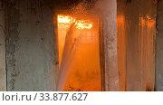 Пожар. Стоковое фото, фотограф Кузнецов Максим / Фотобанк Лори