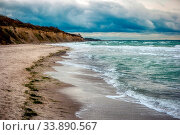 Купить «Baltic Sea Coast near Ahrenshoop in Germany», фото № 33890567, снято 2 июня 2020 г. (c) easy Fotostock / Фотобанк Лори