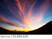Купить «Beautiful volcanic landscapes in Chile, South America», фото № 33899635, снято 2 июня 2020 г. (c) easy Fotostock / Фотобанк Лори