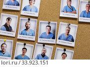 Italy, Pavia, San Matteo hospital, portraits of nurses and doctors. Редакционное фото, фотограф Yoko Aziz / age Fotostock / Фотобанк Лори