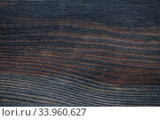 Dark Grunge plank wood texture. Стоковое фото, фотограф Nataliia Zhekova / Фотобанк Лори