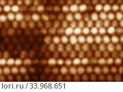 Abstract circular BrownBrown bokeh background. Стоковое фото, фотограф Nataliia Zhekova / Фотобанк Лори