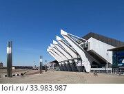Купить «Germany, Bremen - The OeVB-Arena (Stadthalle) is the largest venue in the city», фото № 33983987, снято 23 апреля 2020 г. (c) Caro Photoagency / Фотобанк Лори