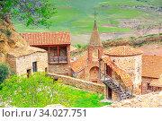 David Gareja or davit gareji cave monastery complex in Georgia, Kakheti region. Стоковое фото, фотограф Zoonar.com/Nataliya_Nazarova{} / easy Fotostock / Фотобанк Лори