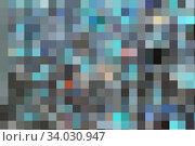 Купить «contemporary creative geometric abstract background», фото № 34030947, снято 27 ноября 2018 г. (c) Nataliia Zhekova / Фотобанк Лори