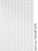 Купить «ceramic tile brick abstract mosaic background», фото № 34047675, снято 25 марта 2020 г. (c) Nataliia Zhekova / Фотобанк Лори
