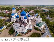 Female monastery in Bogolyubovo (2019 год). Стоковое фото, фотограф Яков Филимонов / Фотобанк Лори