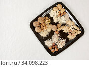 Nuss Variationen. Стоковое фото, фотограф Zoonar.com/Helga Mahler / easy Fotostock / Фотобанк Лори