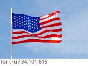 America flag. Стоковое фото, фотограф Илья Галахов / Фотобанк Лори