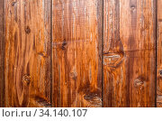 Купить «Weathered brown wooden wall background with stains», фото № 34140107, снято 10 июля 2020 г. (c) easy Fotostock / Фотобанк Лори