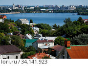 Купить «View of the city of Voronezh and the river in Russia», фото № 34141923, снято 7 июля 2020 г. (c) age Fotostock / Фотобанк Лори