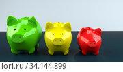 Купить «Symbolic visualization of a currency devaluation. 3d illustration.», фото № 34144899, снято 5 августа 2020 г. (c) easy Fotostock / Фотобанк Лори