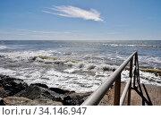 Купить «Побережье Атлантического океана. Регион Вандее. Франция.», эксклюзивное фото № 34146947, снято 11 сентября 2019 г. (c) Вера Смолянинова / Фотобанк Лори